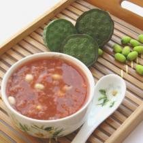 新鮮蓮子荷葉飯豆冰粥