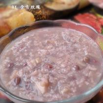 紅豆糯藕粥