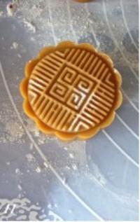 廣式月餅的做法圖解11