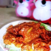 茄汁鍋包肉的做法