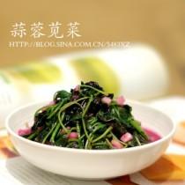 蒜蓉莧菜的做法