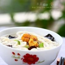 魚湯手搟麵