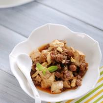 香辣牛肉豆腐的做法