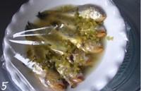 咸菜滷蒸梅童魚的做法圖解5
