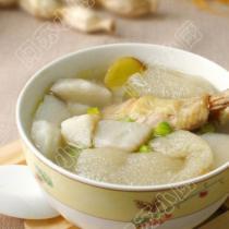 雞腿竹蓀山藥湯的做法