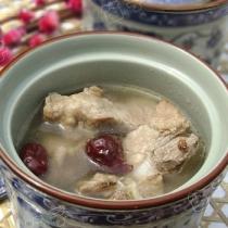 茶香排骨湯