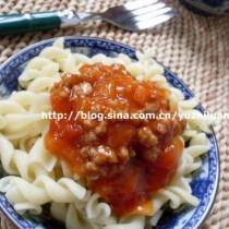 番茄肉醬義麵