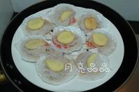 蒜茸粉絲蒸扇貝的做法圖解4