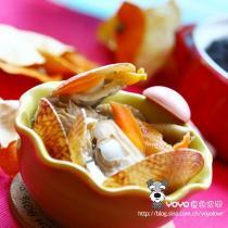 陳皮鴛鴦貝蘑菇湯