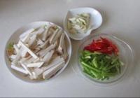 杏鮑菇炒芹菜的做法圖解1
