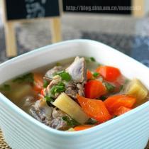 甘蔗紅蘿卜豬骨湯