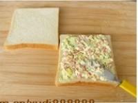 雞蛋三明治的做法圖解3