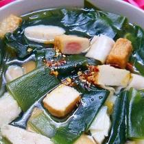 什錦魚丸海鮮湯