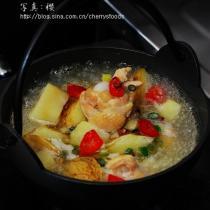 花椒土豆雞腿湯