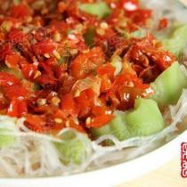 剁椒蒸絲瓜的做法
