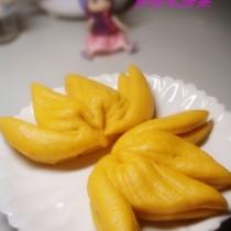 南瓜雙桃饅頭