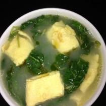 蛋皮空心菜湯的做法