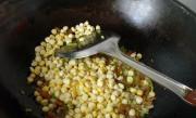 玉米香蝦拌豇豆的做法圖解5
