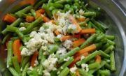 玉米香蝦拌豇豆的做法圖解6