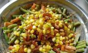 玉米香蝦拌豇豆的做法圖解8