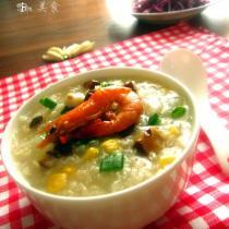 冬瓜瑤柱玉米粥