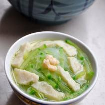 蘿卜粉絲魚丸湯