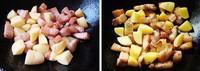 土豆海帶燒肉的做法圖解3
