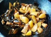 土豆海帶燒肉的做法圖解5