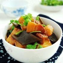 土豆海帶燒肉的做法