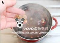 銀魚北芪紅豆湯的做法圖解3