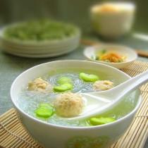 蠶豆肉圓湯