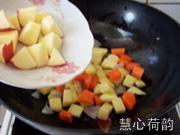 奶香咖喱雞丁的做法圖解15