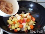 奶香咖喱雞丁的做法圖解16