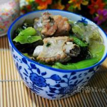 小白菜排骨湯的做法