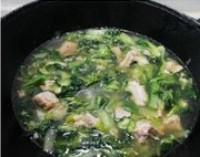 小白菜排骨湯的做法圖解6