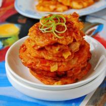 泡菜海鮮餅的做法