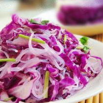 熗拌粉絲紫甘藍
