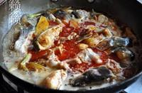 茄子燜鯰魚的做法圖解4