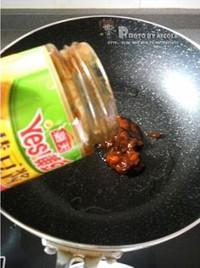 蒜苗辣炒醬香乾的做法圖解4