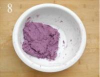 紫薯芝麻餅的做法圖解8