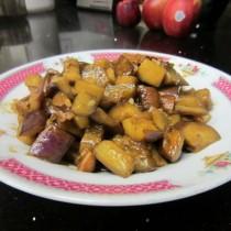醬燒茄丁的做法