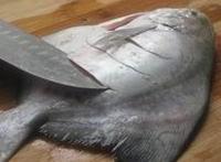 家常紅燒鯧魚的做法圖解1