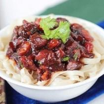 茄子西紅柿滷麵