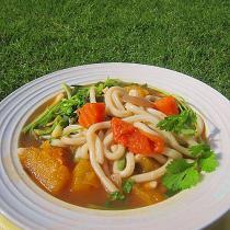 雜菜湯煮烏冬麵
