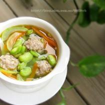 蠶豆雜蔬湯