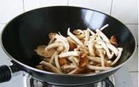 咸肉茶樹菇的做法圖解5