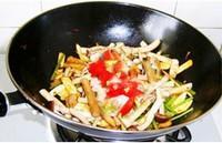 咸肉茶樹菇的做法圖解6