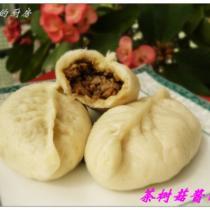 鮮茶樹菇醬肉包