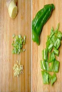 西瓜皮炒雞蛋的做法圖解6