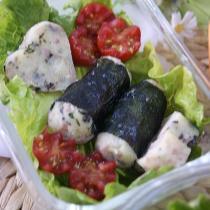 海苔肉末土豆泥便當